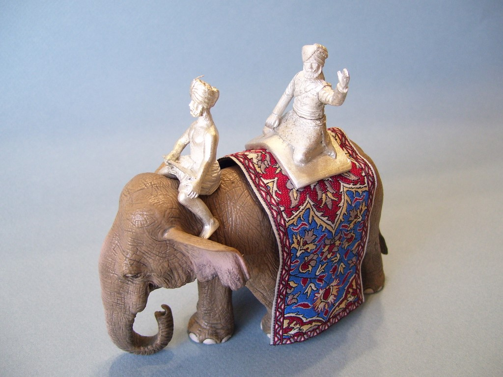 Asian Elephant Delhi Durbar Set 3