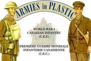 ARMIES IN PLASTIC 5610 World War I-brigade de cavalerie canadienne C.E. F